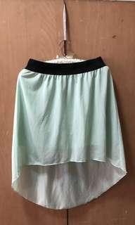 Terranova Mint Green Skirt