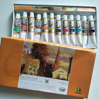 Cat Minyak | Oil Colour merk marie's
