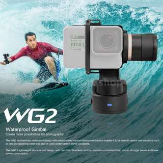 CHEAPEST Feiyu WG2 Wearable Waterproof Gimbal For Action Camera GoPro Session Hero 3 4 5 6 Black
