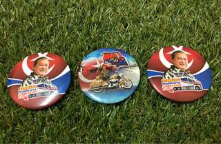 Kembara Mahkota Johor badges