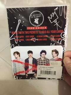 5SOS card holder (from japan)