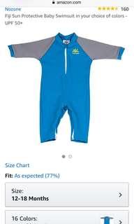 Nozone baby swimsuit
