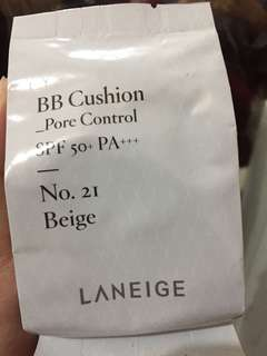 Laneige BB Cushion Pore Control Refill No.21 beige