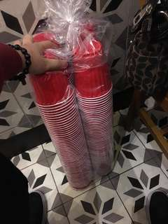 Kirkland Red Beerpong Cups