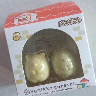 sumikko gurashi bath bomb ball set