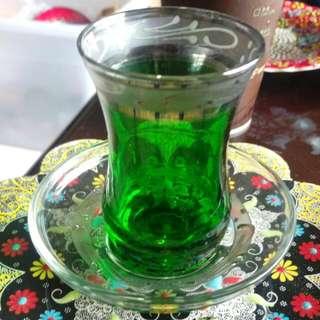 土耳其鬱金香杯,玻璃杯