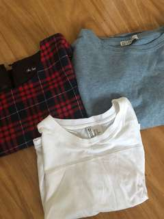x3 Crop Tees for $10