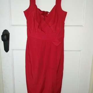 Diana Ferrari red dress