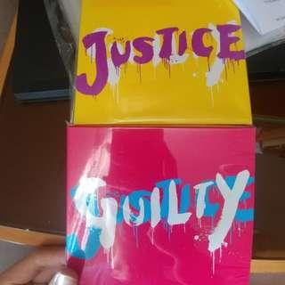 Glay Justice Guilty 大碟 日版
