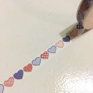 sweet hearts washi tape