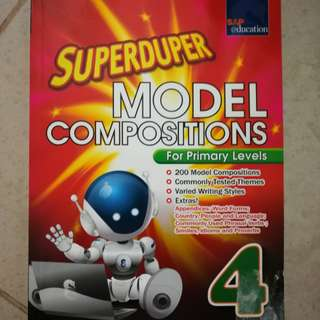 Primary 4. Engish Superduper model compositions