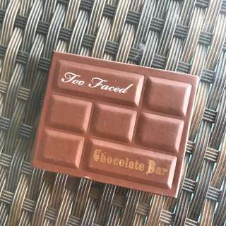 too faced chocolate bar mini deluxe palette