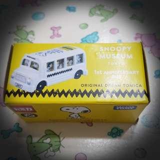 Snoopy 1周年巴士(購至東京Snoopy博物館)