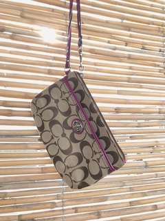 Item 026: Authentic Coach wristlet