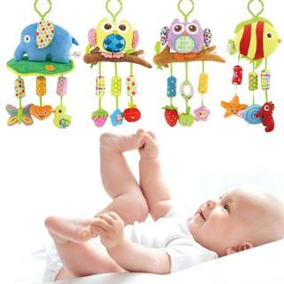 (Preorder) Baby stroller hanging bell toy