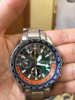 """🈹️精工錶 正常運作 """"平到笑$388 短錶帶"""