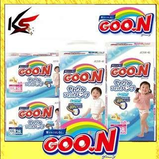 GOO.N JV Pants [SIZE L/XL/XXL For Boy & Girls Carton Of 3 Packs Made In Japan