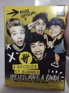 5SOS official book (from japan)