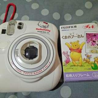 Polaroid camera hellokitty 25s instax mini