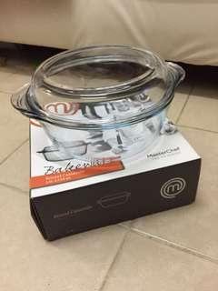 耐熱玻璃烤箱器皿.圓形鍋