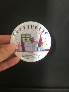 Craftholic badge