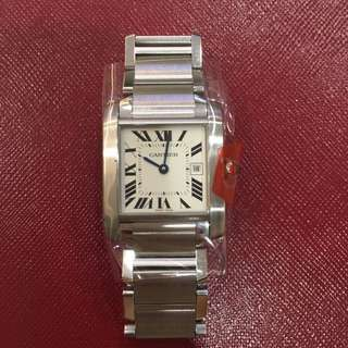 Authentic Cartier Tank Francaise Medium Quartz (Ladies)