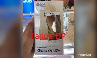 Samsung j7 plus kredit awan tunai/ Aeon