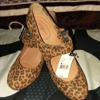 leopard design shoes