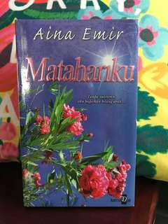 Malay novel- in plastic wrapped!