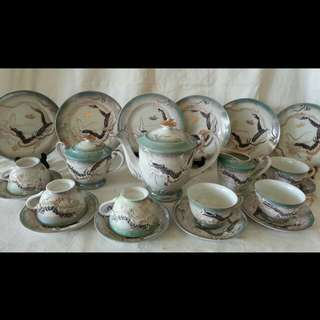 Antique Chinese Teaset