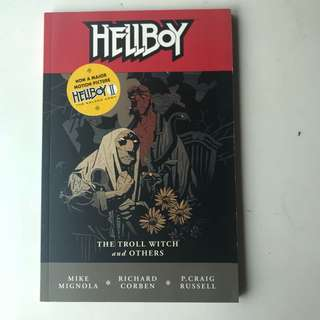 Hellboy The Troll Witch TPB