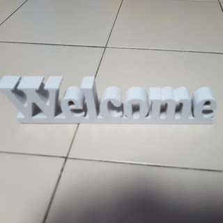 Welcome * Wooden