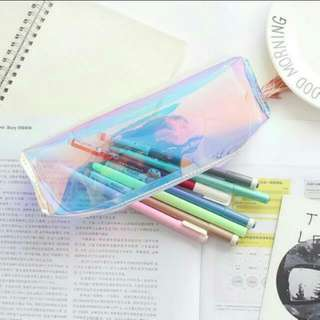 INSTOCKS Holographic Pencil Case
