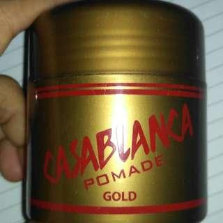 Casablanka pomade gold