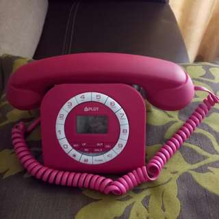 Limited edition corded phone