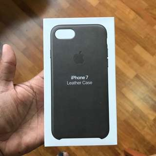iPhone 7/8 Storm Gray Leather Case
