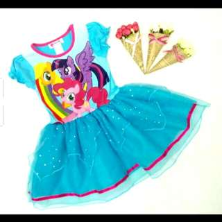 Girl Dress/frozen dress /little pony dress