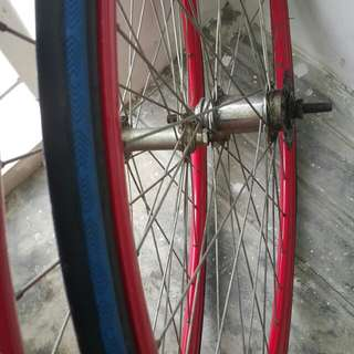 Fixie Tyres Front And Back