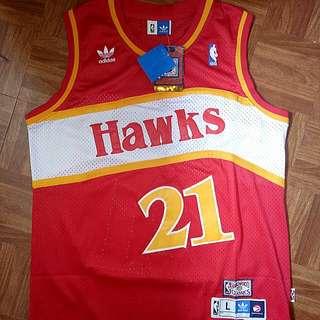NBA Vintage Jersey Atlanta Hawks/ Wilkins