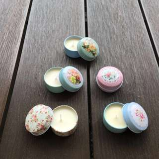 12 Wedding Favors Candles - Cath Kidston Inspired