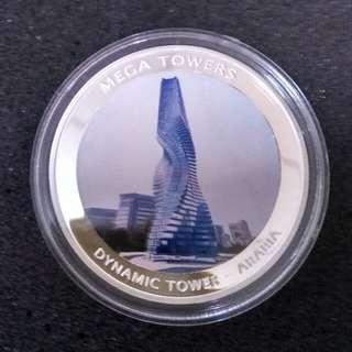REPUBLIQUE DE MOZAMBIQUE 2010 MEGA TOWERS.  DYNAMIC TOWER - ARABIA
