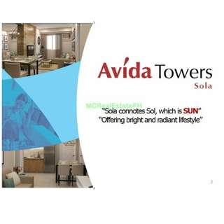 CONDO for SALE at QUEZON CITY for 20K reservation only! (Vertis North - Avida Towers Sola)