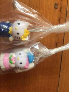 Hello Kitty Wedding Keyring