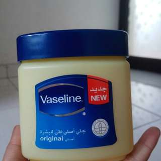 Vaseline petrolatum jelly original arab 100% 240ml