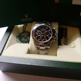 (Sold)勞力士 Rolex 116520 Daytona 黑面亂碼卡