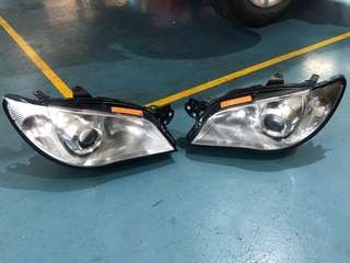 Subaru Impreza Hawkeye headlamp Headlight