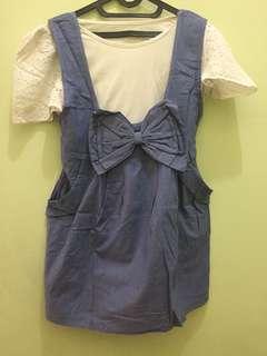 Denim dress (include inner)
