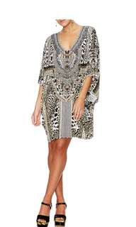 Camilla Franks 'Animal Instinct' batsleeve dress kaftan *New with tags*