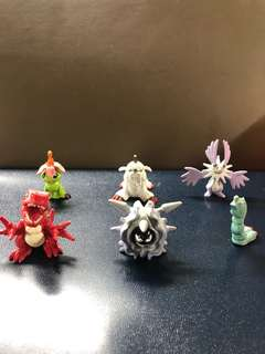 Pokémon/Digimon Figurines Collection to clear: cute, medium Sze, About 3 to 5cm Tall, $1 Each, Lot C