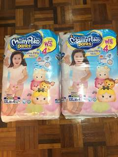 Mamypoko Extra Soft Pant XXL38+4 Girl Baby Diapers